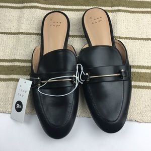 A new day black mules size 9.5